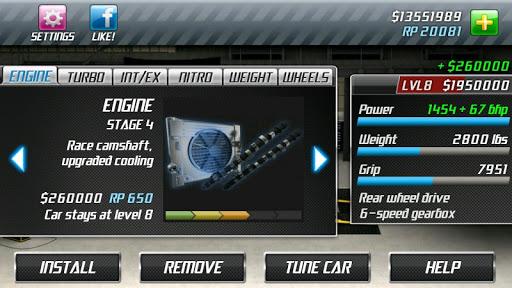 Drag Racing 10 تصوير الشاشة