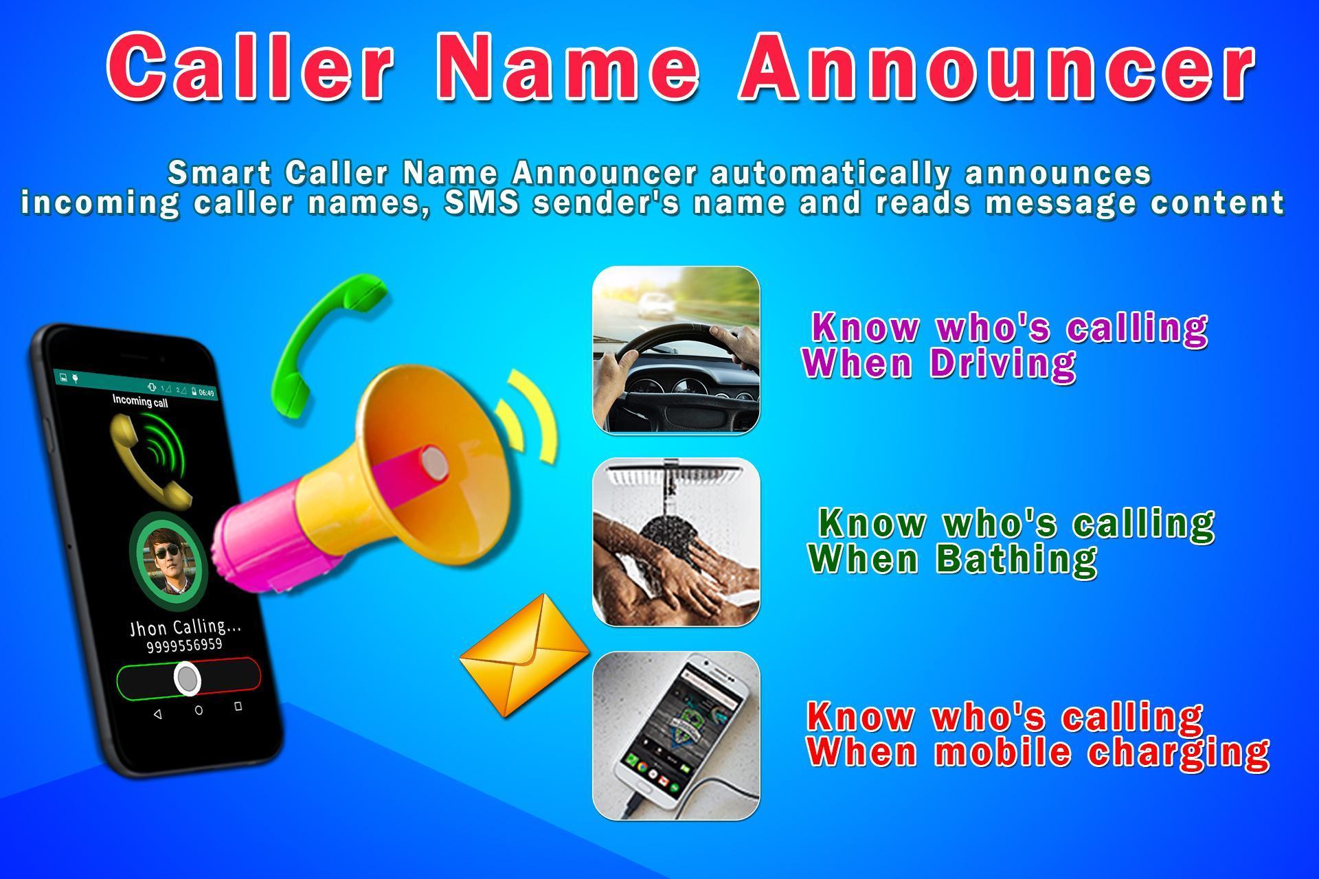Caller Name Announcer - Speaker - Ringtone maker 9 تصوير الشاشة