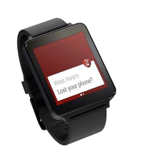 Wear Aware - Phone Finder screenshot 8