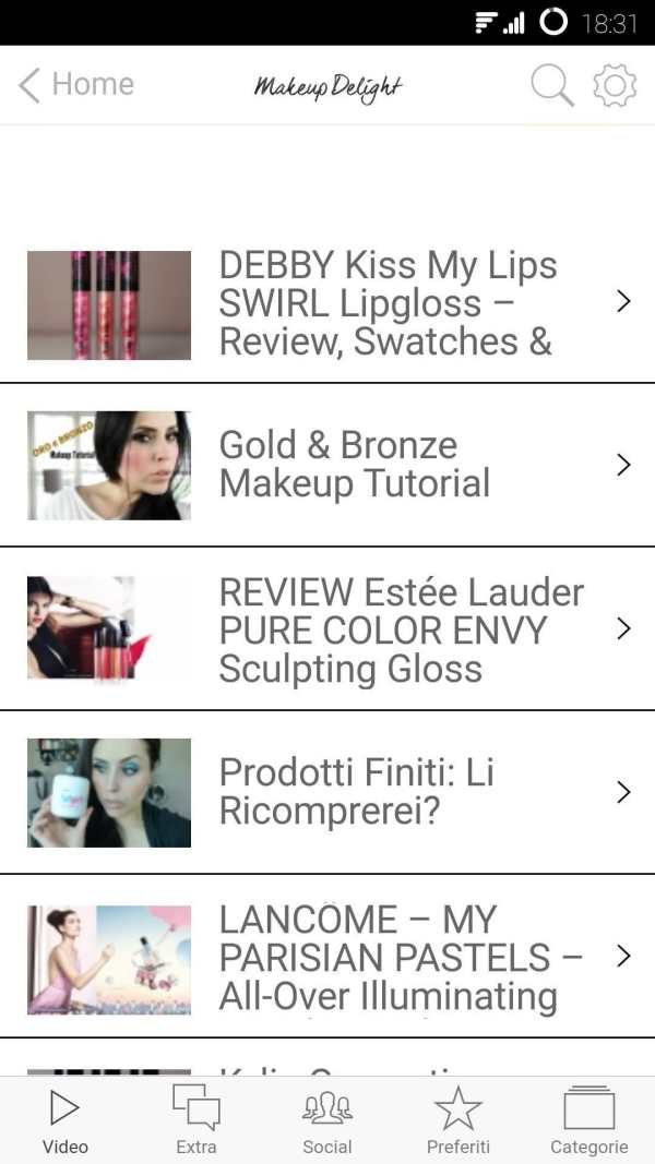 Makeup Delight – Official App screenshot 4
