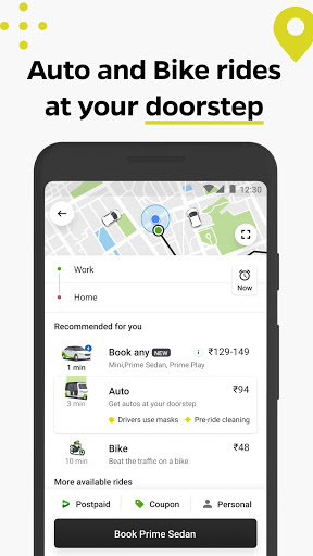 Ola, Safe and affordable rides скриншот 2