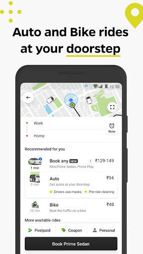 Ola, the #1 ride hailing app screenshot 2