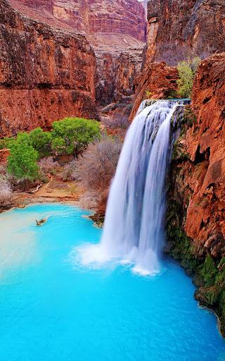 Wild Waterfalls Live Wallpaper screenshot 2