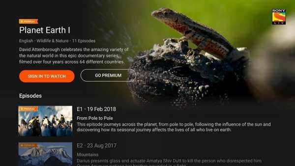 SonyLIV - TV Shows, Movies & Live Sports Online TV screenshot 5