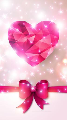Diamond Hearts Live Wallpaper screenshot 6