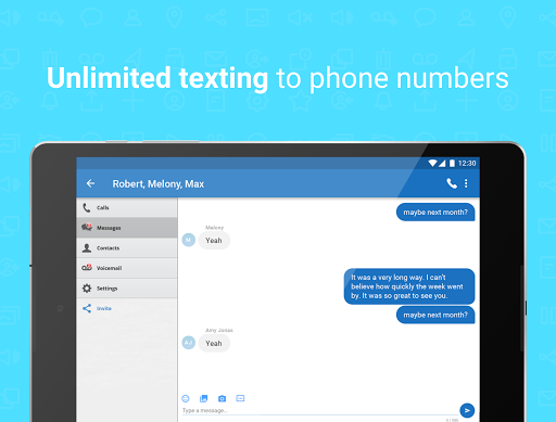 Talkatone: Free Texts, Calls & Phone Number screenshot 11