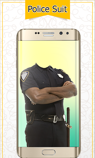 Police Suit Photo & Image Editor - Photo Frames 4 تصوير الشاشة