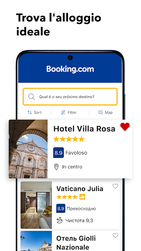 Booking.com prenotazioni hotel screenshot 2