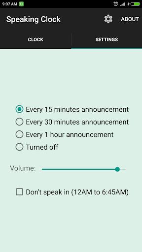 সময় বলা ঘড়ি Bangla Talking Clock (Ad free) скриншот 2