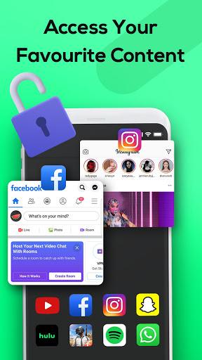 Melon VPN - Unblock Free Wifi Proxy VPN screenshot 3