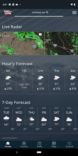 KXLY Weather 1 تصوير الشاشة