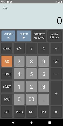 CITIZEN Calculator screenshot 1