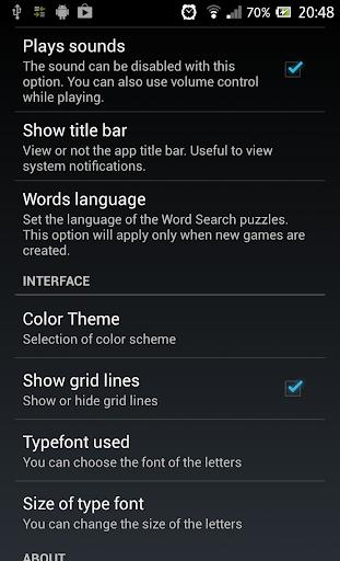 Word Search स्क्रीनशॉट 19
