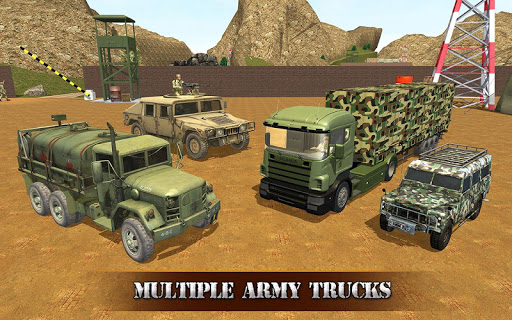 US OffRoad Army Truck driver 2020 screenshot 12