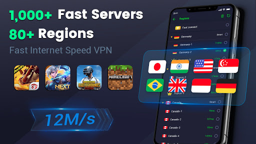 3X VPN - Free, Unlimited, Safe surf, Speed up apps screenshot 7
