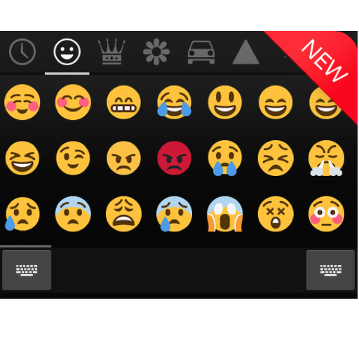 Emoji Keyboard - CrazyCorn أيقونة