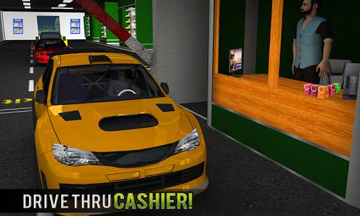 चलाना थ्रू सुपरमार्केट: खरीदारी मॉल कार ड्राइविंग स्क्रीनशॉट 5