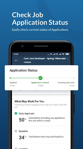 Naukri.com Job Search App: Search jobs on the go! 3 تصوير الشاشة