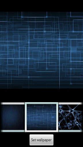 Blue ADW Theme screenshot 2