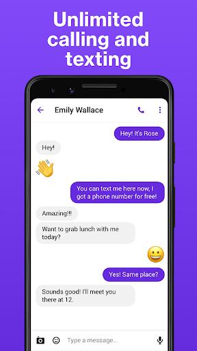 TextNow: Free Texting & Calling App 4 تصوير الشاشة