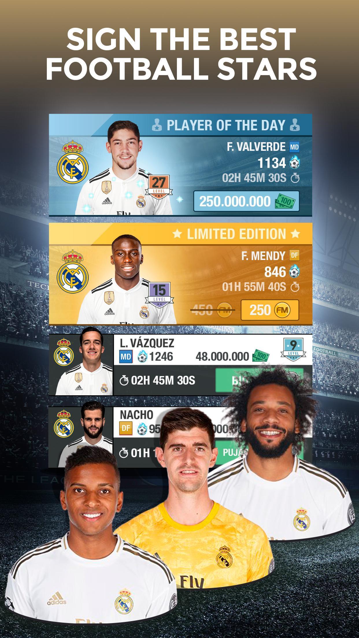 Real Madrid Fantasy Manager'20 Real football live 3 تصوير الشاشة