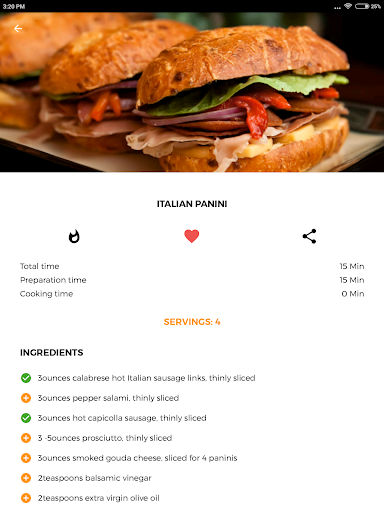 Recipe book: Recipes & Shopping List screenshot 12