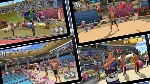 Athletics2: Summer Sports Free screenshot 1