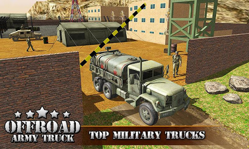 US OffRoad Army Truck driver 2020 screenshot 1