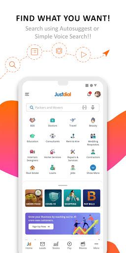 JD -Search, Shop, Travel, Food, B2B 1 تصوير الشاشة
