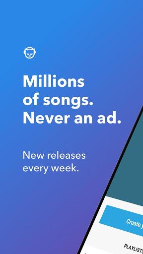 Napster Music screenshot 1