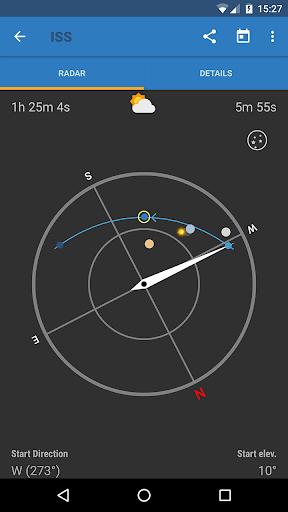 ISS Detector كاشف محطة الفضاء الدولية 4 تصوير الشاشة