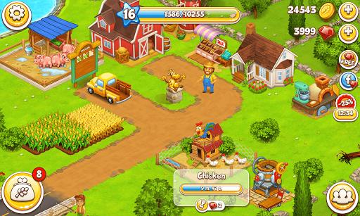 Farm Town: Happy farming Day & food farm game City screenshot 8