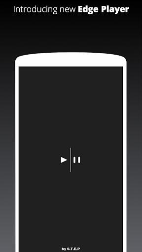 Galaxy S10/S20/Note 20 Edge Music Player 1 تصوير الشاشة