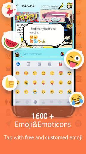 Hi Keyboard - Emoji Sticker, GIF, Animated Theme screenshot 5