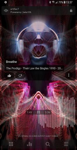 Poweramp Music Player (Trial) screenshot 3