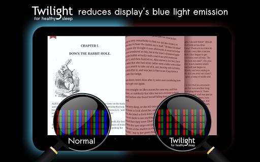 Twilight 🌅 Blue light filter for better sleep 12 تصوير الشاشة