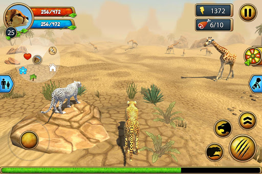 Cheetah Family Sim - Animal Simulator 8 تصوير الشاشة