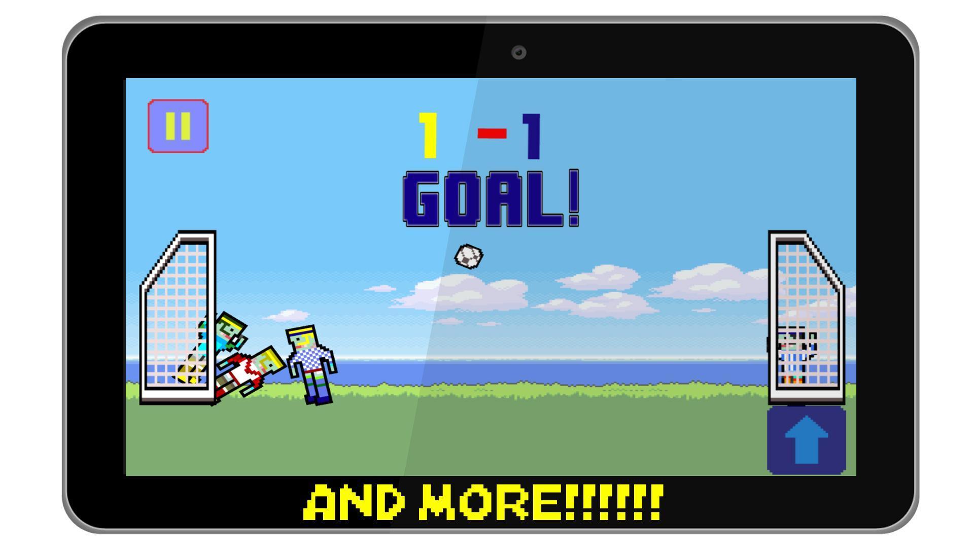 Pixel Soccer 4 تصوير الشاشة