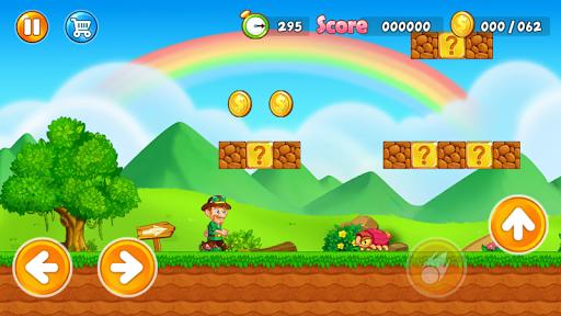 Super Jake's Adventure – Jump & Run! स्क्रीनशॉट 1
