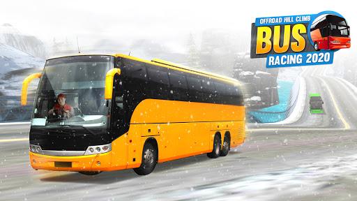 Offroad Hill Climb Bus Racing 2021 screenshot 8