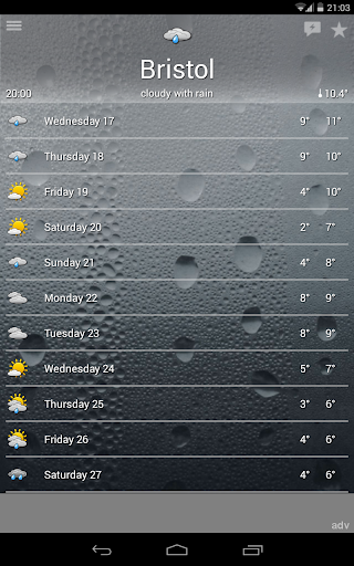 The Weather - Weather forecast and widget screenshot 9