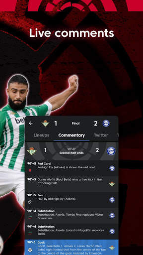 La Liga Official App - Live Soccer Scores & Stats screenshot 10