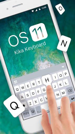 New OS11 Keyboard Theme screenshot 2