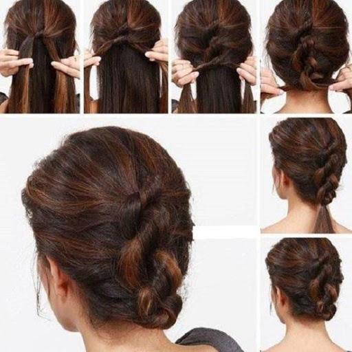 خطوة خطوة الشعر (أنثى) 2 تصوير الشاشة