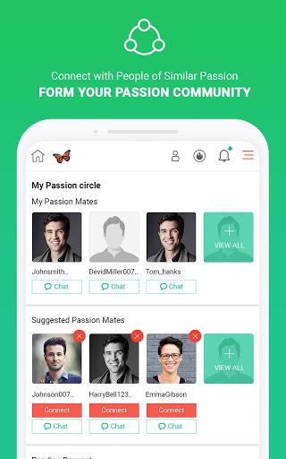 MeVero - Find & Follow Your Passion. screenshot 10