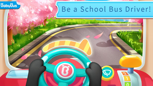 Baby Panda's School Bus - Let's Drive! screenshot 1