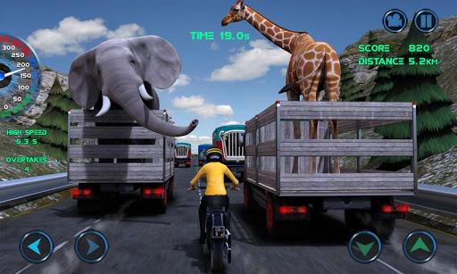 Moto Traffic Race 4 تصوير الشاشة