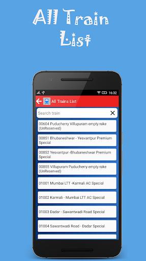 Indian Rail Offline Time Table screenshot 2