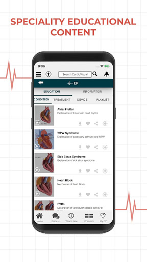 CardioVisual: Heart Health Built by Cardiologists screenshot 3