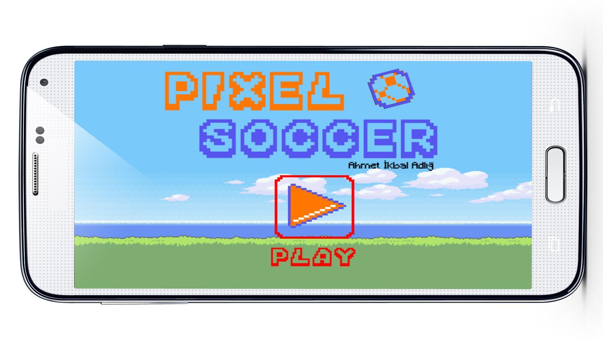 Pixel Soccer 1 تصوير الشاشة